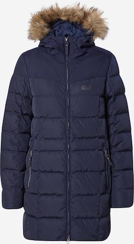 Manteau outdoor 'Baffin Island' JACK WOLFSKIN en bleu