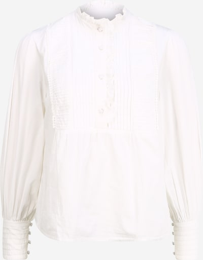 OBJECT (Petite) Bluse 'Dudula' in weiß, Produktansicht
