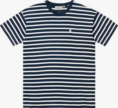 Carhartt WIP Shirt 'Robie' in de kleur Navy / Wit, Productweergave