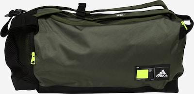 Sportinis krepšys iš ADIDAS PERFORMANCE , spalva - rusvai žalia / juoda, Prekių apžvalga