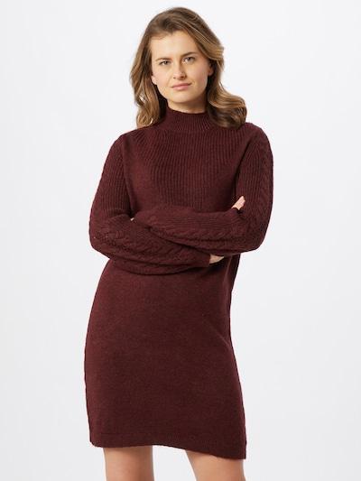ONLY Kleid 'Pil' in weinrot, Modelansicht