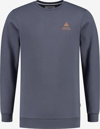 Shiwi Sweatshirt in goldgelb / anthrazit / bordeaux, Produktansicht