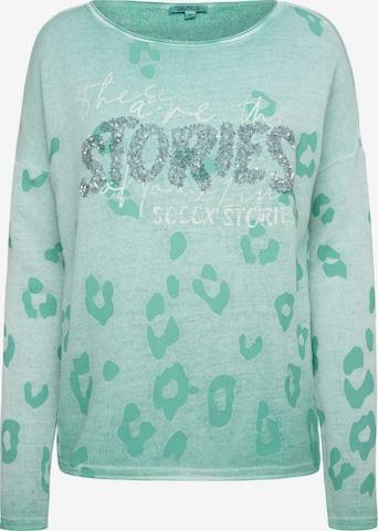 Soccx Sweatshirt in Green