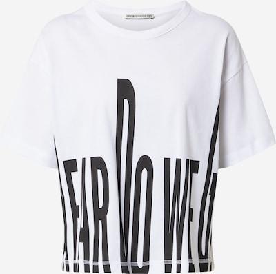 DRYKORN Tričko 'LUNIE' - černá / bílá, Produkt