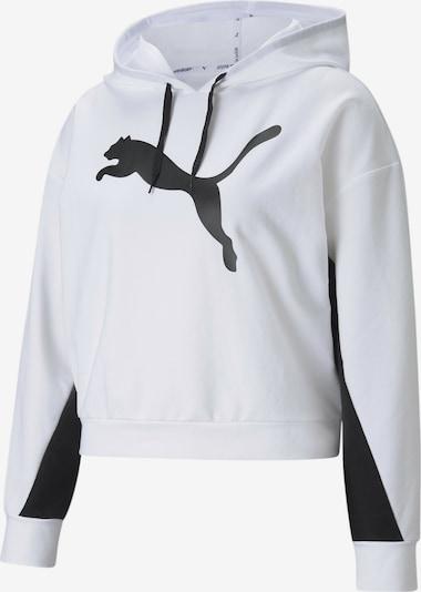 PUMA Sportsweatshirt in schwarz / weiß, Produktansicht
