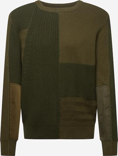 DIESEL Pullover 'YUKON' in khaki / oliv, Produktansicht