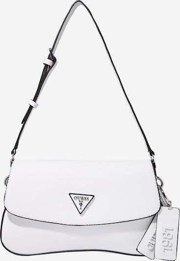 GUESS Чанта за през рамо 'Cordelia' в бяло: Изглед отпред