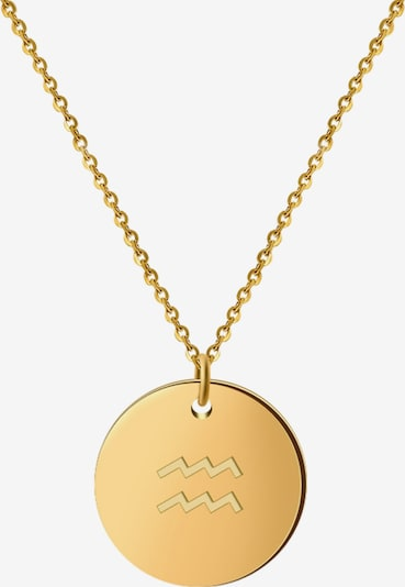GOOD.designs Kette 'Wassermann' in gold, Produktansicht