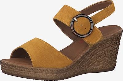 Sandale cu baretă s.Oliver pe galben muștar, Vizualizare produs