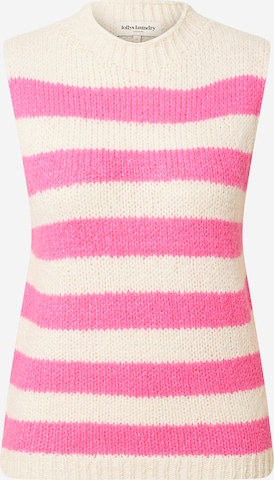 Lollys Laundry Pullover 'Rosa' in Pink
