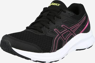 ASICS Buty do biegania 'JOLT 3' w kolorze neonowo-żółty / różowy / czarnym, Podgląd produktu