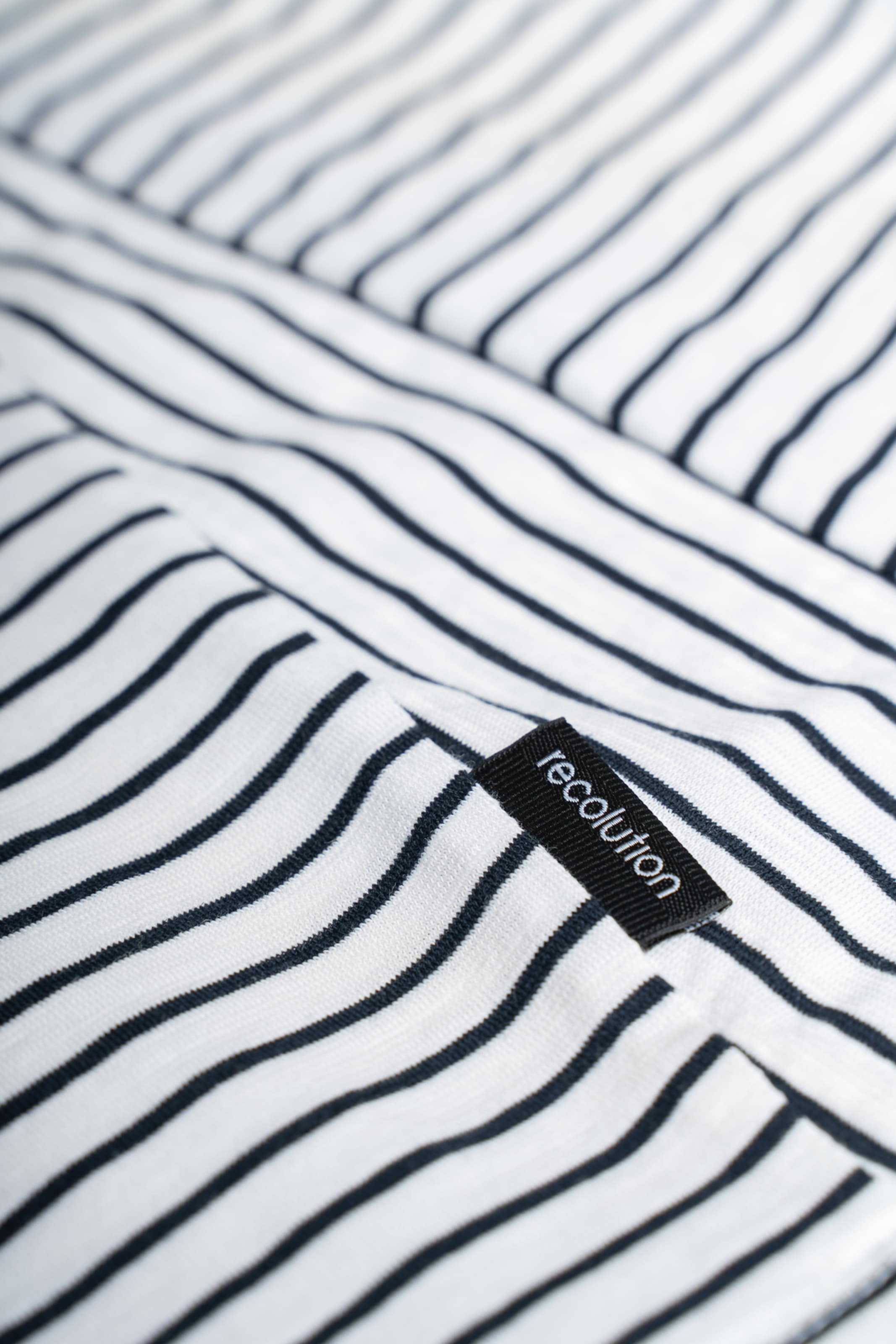 recolution Top Casual Top STRIPES in navy