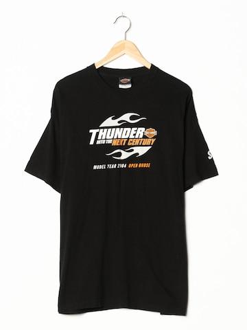 Harley Davidson T-Shirt in L-XL in Schwarz