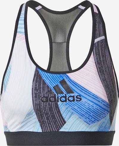 ADIDAS PERFORMANCE Sportovní podprsenka 'NINI SUM' - modrá / mix barev / černá / bílá, Produkt