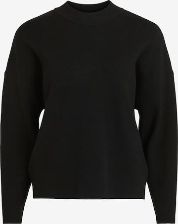 VILA Pullover in Schwarz