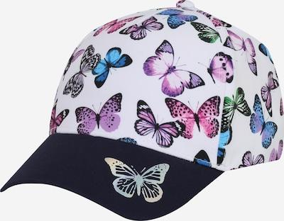 MAXIMO Cap in royalblau / limette / violettblau / helllila / weiß, Produktansicht