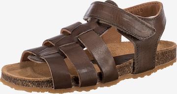 BISGAARD Sandale in Braun