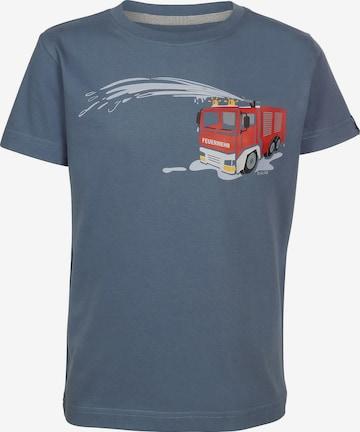 ELKLINE Shirt 'Feuerwehr' in Blau