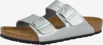 BIRKENSTOCK Huisschoenen in de kleur Zilver, Productweergave