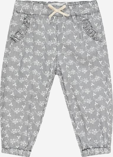 NAME IT Pantalon 'HETINA' en bleu marine / blanc, Vue avec produit
