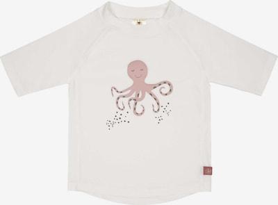 LÄSSIG Schwimmshirt in dunkelgrün / rosé / weiß, Produktansicht
