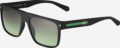 Ochelari de soare '21615S' Calvin Klein Jeans pe gri metalic / gri deschis / verde mentă / alb, Vizualizare produs