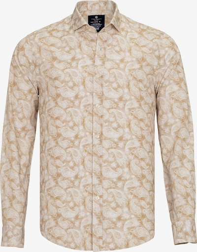 Jimmy Sanders Hemd 'Luca' in beige / weiß, Produktansicht
