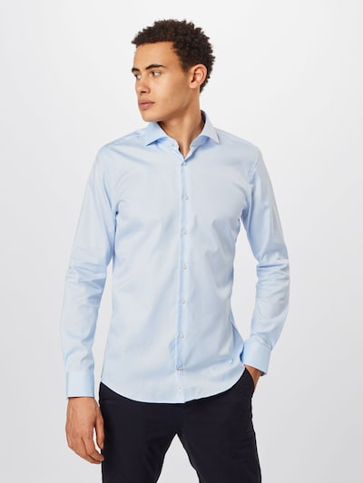 JOOP! Camisa de negocios 'Panko' en azul claro: Vista frontal