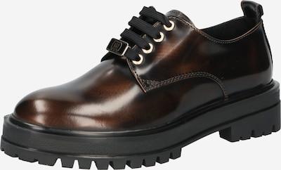 TOMMY HILFIGER Chaussure à lacets en marron / brun foncé, Vue avec produit