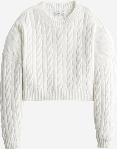 Pulover HOLLISTER pe alb, Vizualizare produs