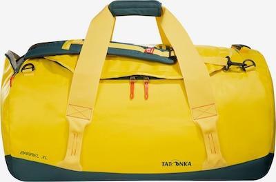 TATONKA Reisetasche in gelb / dunkelgrün, Produktansicht