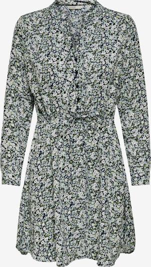 ONLY Blusenkleid 'ONLCORY' in creme / dunkelblau / grün / weiß, Produktansicht