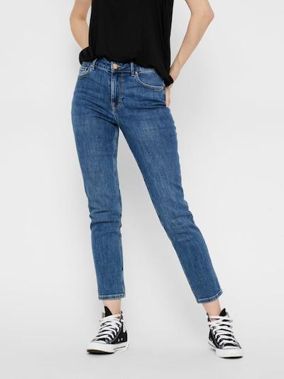 PIECES Jeans in blue denim, Modelansicht