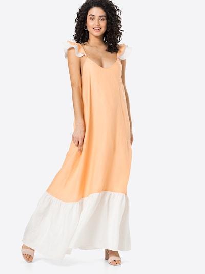 KAN Kleid 'CORAL' in lachs / weiß, Modelansicht