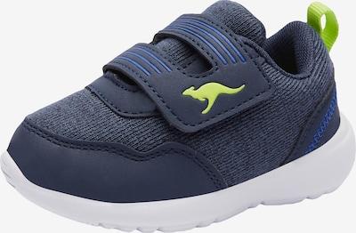 KangaROOS Sneaker in blau / limette, Produktansicht