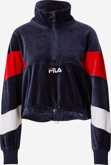 FILA Sweatshirt 'Bellini' in blau / rot / weiß, Produktansicht