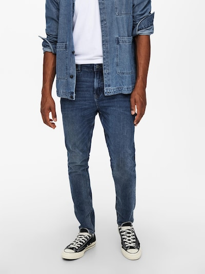 Only & Sons Jeans in dunkelblau, Modelansicht