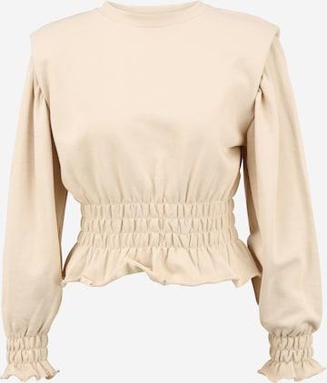 OBJECT Petite Sweatshirt 'BELLIS' in Beige