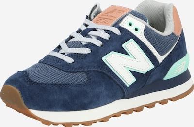 new balance Zapatillas deportivas bajas en azul oscuro / marrón / menta, Vista del producto
