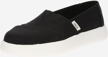 TOMS Slippers 'Alpargata Mallow' i svart