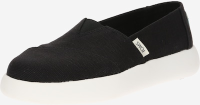 TOMS Slipper 'Alpargata Mallow' in schwarz, Produktansicht