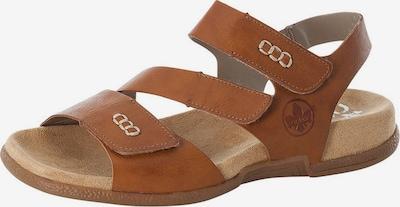 RIEKER Sandały w kolorze karmelowym, Podgląd produktu
