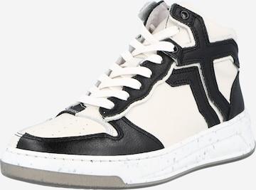 Sneaker înalt de la BRONX pe alb