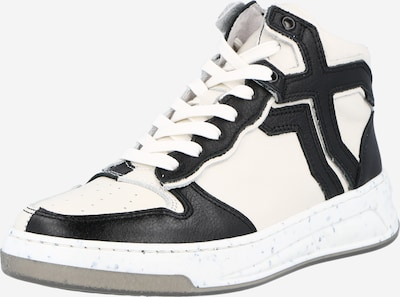BRONX Visoke tenisice u crna / bijela, Pregled proizvoda