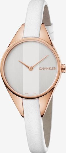Calvin Klein Quarzuhr in bronze / silber, Produktansicht