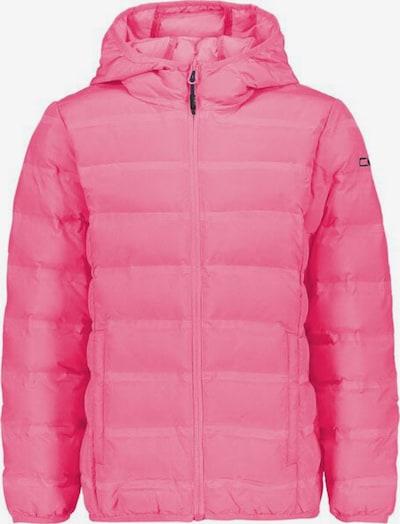 CMP Outdoorjacke 'FIX HOOD' in pink: Frontalansicht