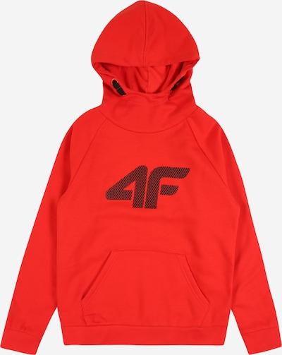 4F Sweatshirt in blutrot / schwarz, Produktansicht