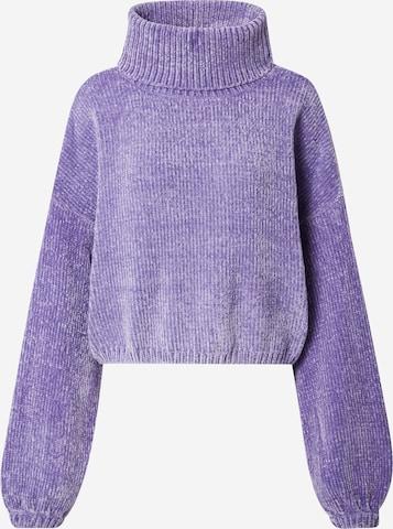 Urban Classics Sweater in Purple