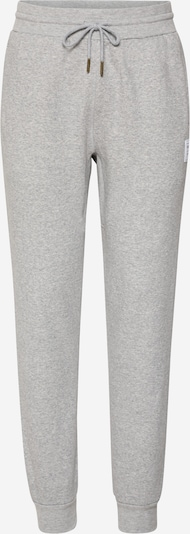 Mitchell & Ness Trousers in mottled grey / White, Item view