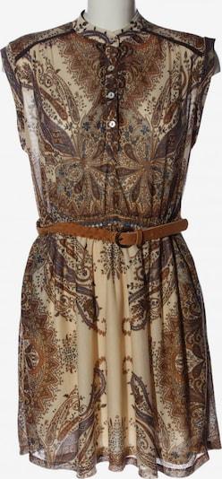 MANGO Dress in XL in Cream / Blue / Brown, Item view